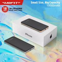 Powerbank Mofit M12 10.000mAh Fast Charging Real Capacity Garansi