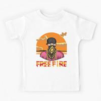 Kaos Baju Anak Free fire - Hiphop #2