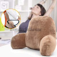 WH Coffee Lounger Bed Rest Back Pillow Support Arm Stable TV Backre 9f