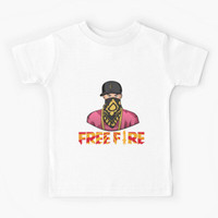Kaos Baju Anak Free fire - Hiphop #1