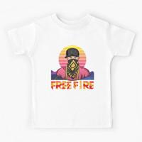 Kaos Baju Anak Free fire - Hiphop