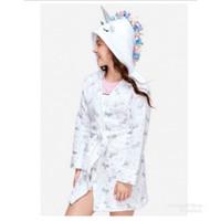 Justice Shimmer Unicorn Robe - Baju Handuk Berenang Justice - Size