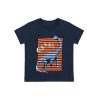 Mothercare Baby Dino T-Shirt - Kaos Bayi (Biru)