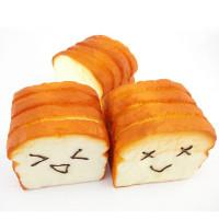 Mainan Squishy Model Slow-Rising Bahan PU Elastis Bentuk Roti Ukuran