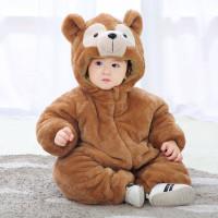 Jumpsuit Bayi Musim Gugur Dan Musim Dingin Baju Monyet Bayi Panda