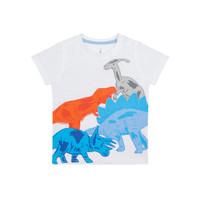 Mothercare Baby Dino T-Shirt - Kaos Bayi (Putih)
