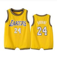 Baju Basket Tanpa Lengan Untuk Bayi Laki-Laki Usia 0-1 - 3 Tahun