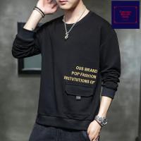 Sweater pria baju hangat street style hype hypebeast panjang FMI13
