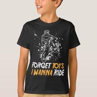 Kaos Baju Anak Dirt Bike Racing Motocross Racer Forget Toys