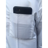 baju lengan habib koko polos putih koko habaib koko kerah ali haibah b