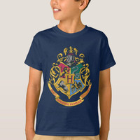 Kaos Baju Anak Harry Potter Hogwarts Crest - Full Color