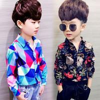 Baju Anak Laki-laki Baru 2020 Gaya Musim Semi Baju Katun Bayi Korea