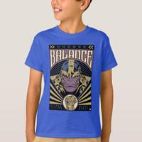 Kaos Baju Anak Thanos - Choose Balance