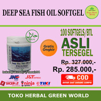 Promo Green World Deep Sea Fish Oil Murah