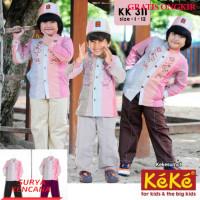 Star+Kekesumut KK 311 Baju BUsana Muslim Koko Anak Laki Laki Keke