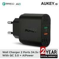Aukey Charger 2 Port USB quicky Change 3.0 Fast Charging PA-T13