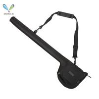 Tas Penyimpanan Alat Pancing Portable Bahan Kanvas Bentuk Tabung