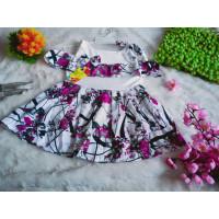 tahun dress usia 1-2 sabrina bayi baju tali dress anak anak pita