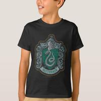 Kaos Baju Anak Harry Potter Retro Mighty Slytherin Crest