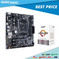 Paket AMD ATHLON 3000G feat ASUS A320M-K PRIME