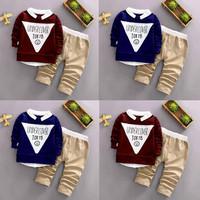 Anak Stelan Set 1 Import Usia Baju Cowok Korea 2 Umur TK Pria Tahun Se