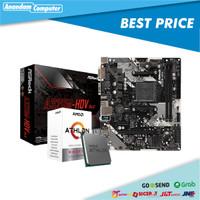 Paket AMD ATHLON 3000G feat ASROCK A320M-HDV R4.0
