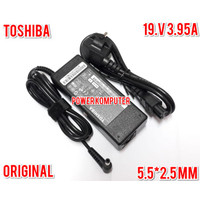 NEW ADAPTOR CHARGER LAPTOP TOSHIBA 19V 3.95A SATELLITE A100 A105