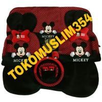Hot Price Sarung jok bantal mobil 18 in 1 mickey mouse agya ayla brio