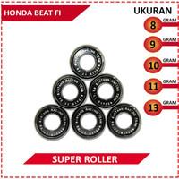 SUPER ROLLER BLACK DIAMOND BRT HONDA BEAT FI (89101113 GRAM)
