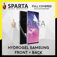 HYDROGEL CLEAR SAMSUNG A8 2018 ANTI GORES DEPAN BELAKANG FULL COVER
