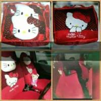 Branded i - Sarung Jok Mobil Hello Kitty Agya Ayla Karimun Jazz Yaris