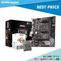 Paket AMD ATHLON 3000G feat MSI A320M-A PRO MAX