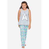 Justice Girls Int. Unicorn Pajama Set-Pakaian Tidur Anak-Sz. 8-B4