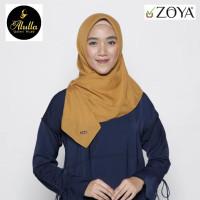 Zoya Casual Nadir Flat Gold - Kerudung Segiempat Polos Voal - Hijab