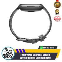 Fitbit Versa Charcoal Woven Special Edition Garansi Resmi