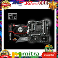 MSI B350M Bazooka AM4 AMD Promontory B350 DDR4 USB3.1 SATA3