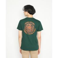Kaos Pria Erigo T-Shirt Revolt Cotton Combed Green - S