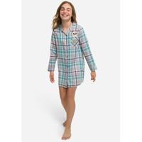 Justice Girls Pugs & Kisses Night Shirt - Pakaian Tidur Anak - Sz. 6