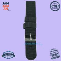 Tali Jam Tangan Kain Watch Strap Fashion Polos Bahan Nylon Nylon 20 mm