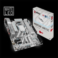 Limited - Ready stok MSI B250M MORTAR ARCTIC By WPG