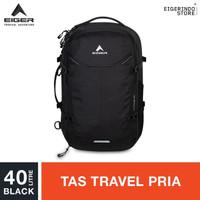 Eiger X-Cyprus 40 Travel Backpack - Black 40L