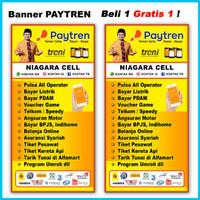 SPANDUK BANNER BELI PAYTREN GRATIS 1 1