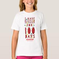 Kaos Baju Anak Cute Ladybug 100 Days of School