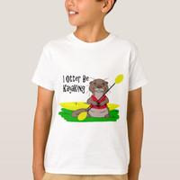 Baju Kaos Anak I Otter Be Kayaking