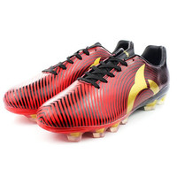 WOW Sepatu Bola Ortuseight Forte Helios Fg (Ortred/Black/Gold)