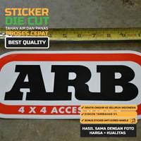 ~ Sticker ARB Bamper Depan Belakang Car Sticker 4x4 OffRoad