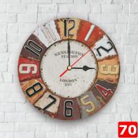Murah TERMURAH 70 Dinding Minimalis 30 cm Jam