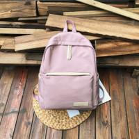 Bag Anak Ransel Korean Tas Polos Backpack - Beris Twenty Wanita Sekola