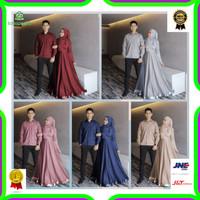 Couple Agoda / Baju Pasangan Muslimah / Baju Pasangan Undangan / Baju