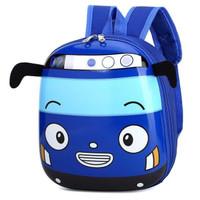 LXFZQ Tas Ransel Sekolah Anak Backpack Model Bus Tayo - E-300 - Biru